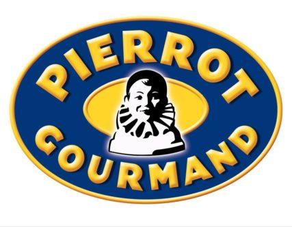 logo couleur pierrot gourmand/ article histoires bonbon factory