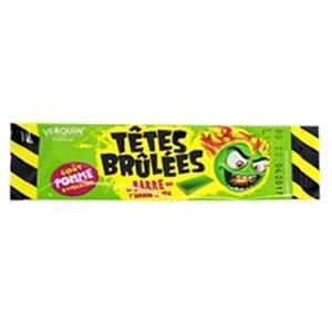 bonbon vert tete brulees chewbarre pomme verquin