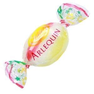 bonbon arlequin emballe lutti