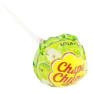 sucette chupa chups fruits pomme verte fruits