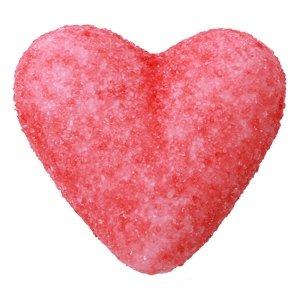 bonbon Cœur fraise rouge jack et valerie
