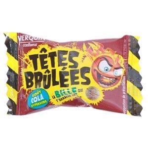 bonbon Tête Brûlée Cola verquin acidule