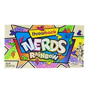 boite nerds rainbow edition limitee throwback