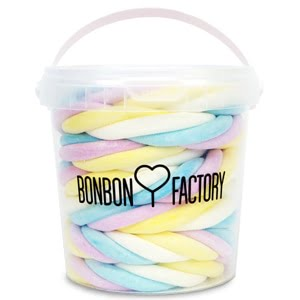 seau guimauve tressee fini bonbon factory