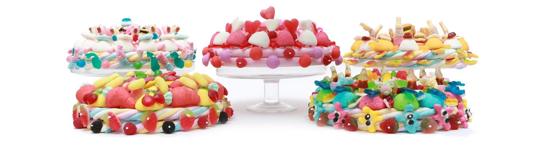 bandeau presentation gateaux de bonbons