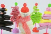 Blog-recette-noel-decorer sa table-sapin-bonhomme neige-image1