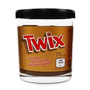 vignette pot pate a tartiner twix chocolat bonbon factory