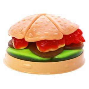 vignette candy burger look o look burger en bonbon