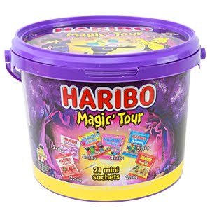 vignette haribo magic tour sachets alloween