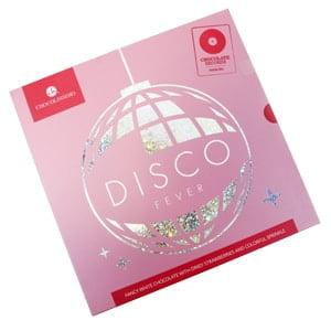 vignette chocovinyle disco boite rose vinyle gourmand chocolat blanc