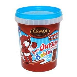 vignette pot baby ourson guimauve chocolat cemoi