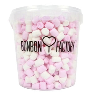 vignette box bonbons mini chamallows haribo