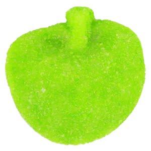 vignette bonbon vert pomme tendre fini