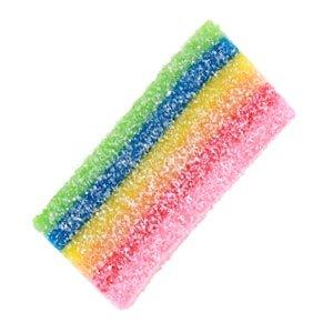 bonbon arc en ciel chewy chips rainbow fini