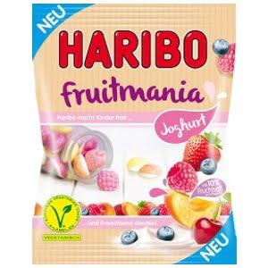 vignette presentation sachet bonbons fruitmania joghurt haribo