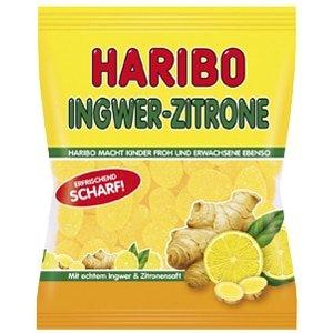 vignette sachet bonbons haribo ingwer zitrone gingembre citron