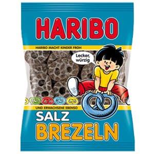 vignette sachet SalzBretzeln reglisse bretzel haribo allemagne