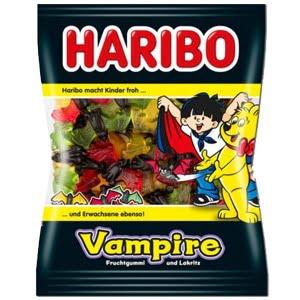 sachet bonbons vampires haribo reglisse fruits vignette
