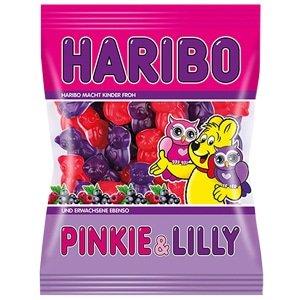 vignette sachet bonbons haribo en forme de chouettes pinkie & lilly