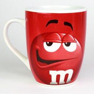 Tasse - mug rouge M&M'S en céramique